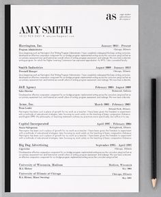 Help finding a #job #employment #Resume Template / CV Template The Ashley Roberts by PhDPress @Etsy