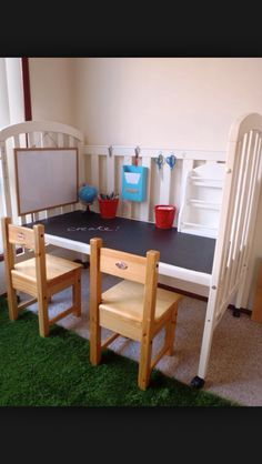 Covert crib to activity table