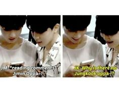 Many reasons my sweet Kookie. 1 I won't because I'm older than you. 2 One of your nicknames is fetus. #BTS