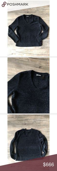 // 90's VTG Charcoal Chenille V-neck Sweater + + So soft and cozy!  + Great condition  + Fibers in sweater are actually multi colored if you look real close! Very hard to photograph but is real pretty in person  + Tagged as size small - slouchy fit - true to size   ** This item is priced for quick sale - because of this I will not be modeling or accepting offers. I am real nice about bundle deals **  ** Ask for measurements if needed **   #vintage #soft #goth #grunge Vintage Sweaters V-Necks