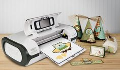 "Cricut Imagine lets you design, print, and cut together to take all of your creative projects to the next level. Now you can add full color and patterns for one-of-a kind projects that reflect your creativity and personality. Cricut Imagine offers endless possibilities; the rest is up to you. Machine set includes one Cricut Imagine cartridge, 12"" x 12"" cutting mat, cutting blade, ink and necessary cords and manuals."