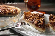 Χωριάτικη τάρτα με μέλι και καρύδια ⋆ Cook Eat Up! Cheesesteak, Sweet Recipes, Waffles, Deserts, Pie, Cooking, Breakfast, Ethnic Recipes, Clever