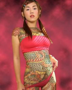 Things you must know about Japanese tattoo art, the history and meaning. Japanese dragon, sleeve, tiger, flower and japanese mask tattoo designs. Tattoo Girls, Tattoo Designs For Girls, Tattoo Designs And Meanings, Tattoo Designs Men, Ladies Tattoos, Body Tattoo Design, Full Body Tattoo, Body Tattoos, Buddha Tattoos