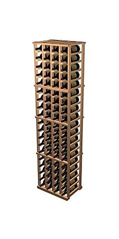 Designer 4Column Wine Rack Prime Mahogany  Midnight Black Stain *** Find out more about the great product at the image link.