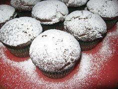 Tortini al cioccolato con cuore di cocco e nutella