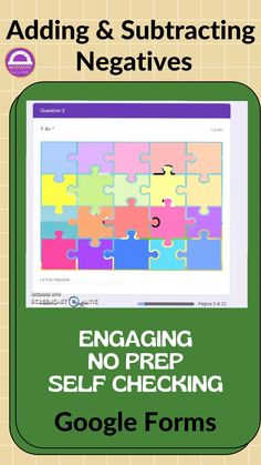 Free Teaching Resources, Teaching Math, Teacher Resources, Teaching Ideas, Math Games, Math Activities, Adding And Subtracting Integers, Negative Integers, Mystery