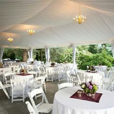 wedding decorations pictures receptions tented reception area lahontan golf club angie 9141