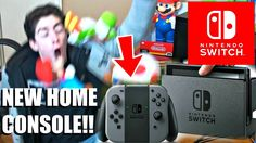 NINTENDO SWITCH (NX) LIVE REACTION! INSANE FREAK OUT! [BRAND NEW CONSOLE...