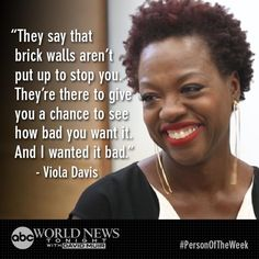 What made @violadavis the force she is today? @DavidMuir one-on-one with the star #WorldNewsTonight #PersonOfTheWeek