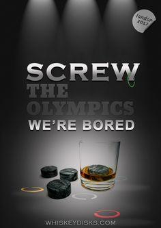 Is it over yet? #Olympics #London2012 #bourbon #whiskey #booze