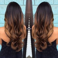 Would love to do my hair like this with Ombre.