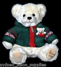 Harrods Alexander 2006 Christmas Bear