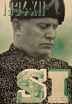 xanti schawinsky : mussolini : 1934