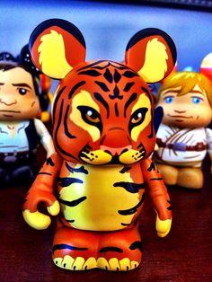"Disney Vinylmation Collectable 3"" figure, Disney's Animal Kingdom, Tiger"