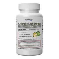 Artichoke supplement has been shown in studies to improve healthy digestive function through its ability to support normal bile flow, which aids in fat digestion and metabolism.* Artichoke leaf extract is derived from the parts of the plant that contain the highest concentration of bioactive... more details at http://supplements.occupationalhealthandsafetyprofessionals.com/herbal-supplements/artichoke/product-review-for-superior-labs-best-artichoke-leaf-extract-nongmo-powerfu