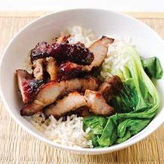 Chinese Barbecued Pork. Omg I can't wait for authentic Chinese food!!!
