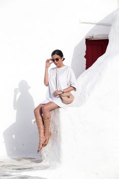 What To Wear In The Greek Islands - Read all Tips at Stella Asteria   Fashion