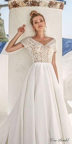 Wedding Dresses 2017 - Santorini Collection via Eva Lendel / http://www.deerpearlflowers.com/eva-lendel-wedding-dresses-2017/4/