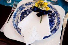 Para o seu Casamento: Amarelo e azul