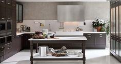 Dark Wood Classical Kitchen