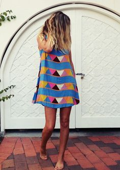 tribal prints boho