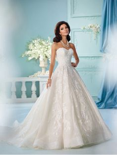 David Tutera Bridals 216255 David Tutera for Mon Cheri Bridal Best Bridal, Prom, and Pageant gowns in Delaware Mon Cheri Wedding Dresses, Mon Cheri Bridal, Wedding Dresses Photos, Bridal Wedding Dresses, Wedding Dress Styles, Designer Wedding Dresses, Pageant Gowns, Davids Bridal, Marie