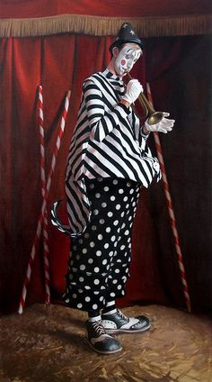http://WhoLovesYou.ME | #clowns AmyLind_untitled_10 #clowns #circus