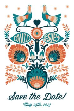 Wedding Save the Date card I designed, based on the traditional Polish art of paper cutting, Wycinanki Laser Cut Wedding Invitations, Wedding Stationary, Wedding Invitation Cards, Wedding Cards, Invitation Ideas, Wedding Save The Dates, Save The Date Cards, Scandinavian Wedding, Scandinavian Style