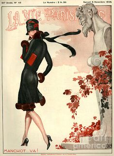 1920s France La Vie Parisienne Magazine by The Advertising Archives