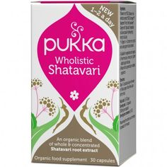 PUKKA Women's Wholistic Shatavari 30 caps