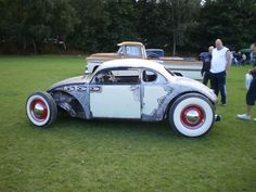 Chopped and couped - Page 24 - VW Forum - VZi, Europe& largest VW, community and sales Vw Rat Rod, Rat Rods, Vw Forum, Vw Conversions, Combi Wv, Beetle Car, Volkswagen Bus, Vw Beetles, Hot Cars