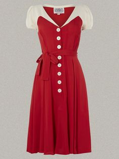 We dedicate our work to Miss Lillian Wells, 'The Seamstress of Bloomsbury', who's love and care, and incredible skill went into every garment she made. 1940s Fashion Dresses, 1940s Dresses, Retro Fashion, Vintage Dresses, Vintage Outfits, Vintage Fashion, Fashion Outfits, Vintage Clothing, Modest Dresses Casual
