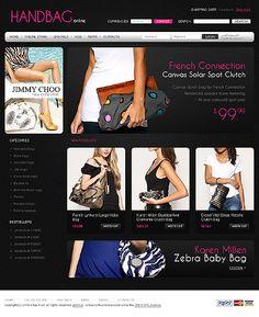 Handbag Boutique VirtueMart Templates by Di
