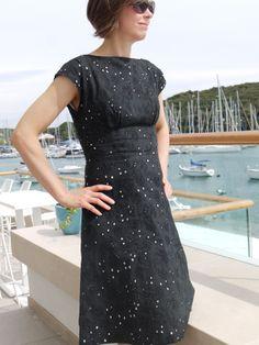 By Hand London Anna dress in Italian cotton eyelet batiste.