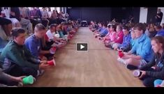 """People can do amazing things when they work together as  a team, especially when they are fully devoted to what they are doing. This group of kids covering a great song called """"Cups"""". They are very well synchronized and at the end the final product is great."""