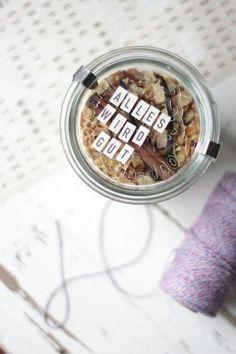 Mhhhontags-Rezept: Milchreis mit Apfel, Zimt & Zucker to go – Soulfood für kranke Freunde oder auch einfach einen selbst | Ohhh… Mhhh…