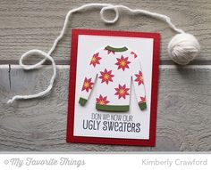 Cozy Greetings, Sweater Stitch Background, Blueprints 20 Die-namics, Comfy Sweater Die-namics - Kimberly Crawford #mftstamps