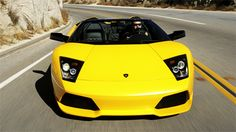 lamborgini murcielago...on my bucket list to drive one!