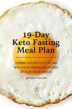 In this article, we'll explain how intermittent fasting and keto work in synergy to boost weight loss and improve health. Also, we've included a keto fasting plan to help you reach ketosis quicker and lose weight. Learn More keto benefits healthy Ketosis Diet, Ketogenic Diet Meal Plan, Diet Meal Plans, Ketogenic Recipes, Low Carb Recipes, Diet Recipes, Diet Menu, Dessert Recipes, Diet Tips