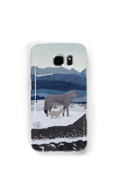 """""""Wolfs Winter End"""" Samsung Galaxy Cases & Skins by Lidra   Redbubble"""
