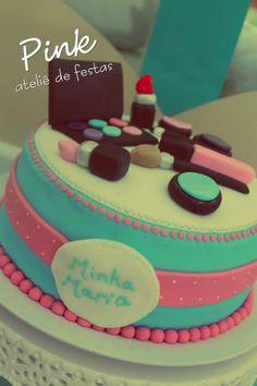 Pink Ateliê de Festas: Maquiagem