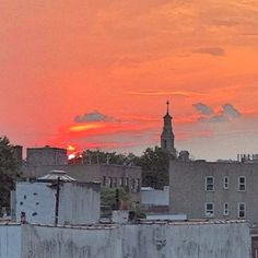 Sunset in Brooklyn - @Jeffrey Kalmikoff P