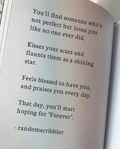Someone...