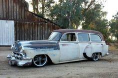 247 AUTOHOLIC: 1954 Chevy Handyman 150 Wagon...