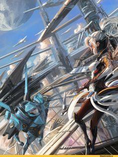 Overwatch art,Overwatch,Blizzard,Blizzard Entertainment,фэндомы,Mercy (Overwatch),Pharah