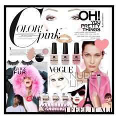 A beauty collage from January 2017 Nude Lip, Pretty In Pink, Victoria's Secret, My Style, Polyvore, Beauty, Color, Design, Women