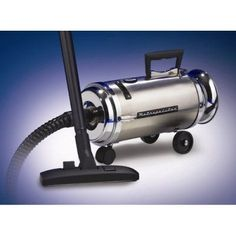 Metropolitan Professionals Stainless Steel Mini Canister Vacuum with HEPA FILTER - OV-4BCSF, Durable
