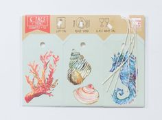 An inventive format with 6 tags and strings. Use these colorful tags as gift tags, place cards, glass tags, and anything else you can think of! Quality linen cardstock, with holes punched to attach cotton strings, are perforated at the top for eas...