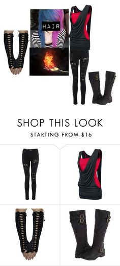 """Untitled #1255"" by bubble-loves-you ❤ liked on Polyvore featuring Type Z, women's clothing, women, female, woman, misses and juniors"
