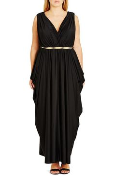 e3d538c22b City Chic  Athena Goddess  Maxi Dress (Plus Size) available at  Nordstrom